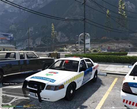 Gta 5 Polizei Auto by Ford Crown Hungarian Gta5 Mods