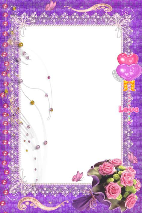 imagenes de quinceañeras png 8 bell 237 simos marcos para fotos floreados en png marcos