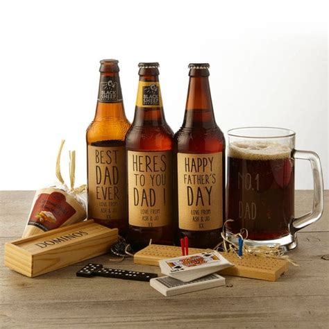 personalised ale and pub games gift set find me a gift