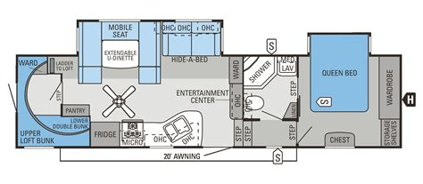 fifth wheel floor plans jayco 2014 fifth wheel floor plans floor plans and flooring ideas