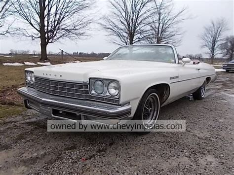 buick lesabre convertible for sale 1975 buick lesabre convertible for sale creston ohio