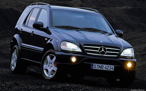2000 mercedes benz ml55 amg information and photos zombiedrive