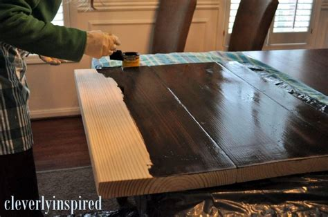 bar top diy 10 diy wood countertop cleverly inspired we did this