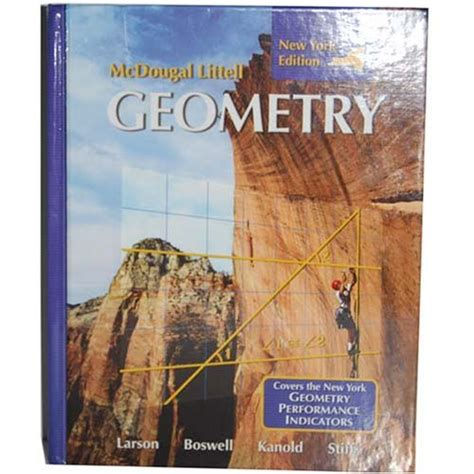 tutor in a book s geometry books mcdougal littell geometry new york edition student