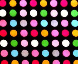colorful polka dots polka dot fabric 1 yard colorful dots in black by jeadore