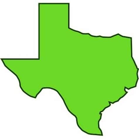 texas map clipart texas outline clipart best