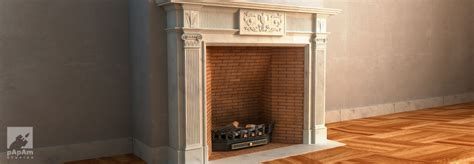 Fireplace Render by Fireplace Render By Papamstudios On Deviantart
