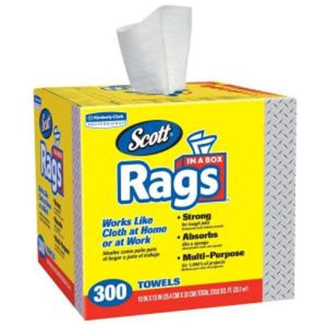 home depot paint rags clark rags in a box 300 ct 75600 the home depot