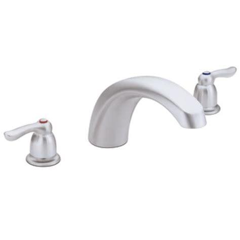 Moen Chateau Bathroom Faucet by Moen Chateau 2 Handle Tub Faucet Trim Only At Menards 174