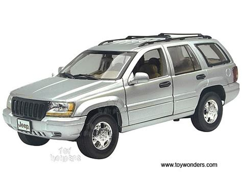 jeep cherokee toy jeep gr cherokee suv by motormax 1 18 scale diecast