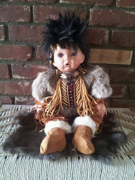 porcelain doll american indian american porcelain doll ebay
