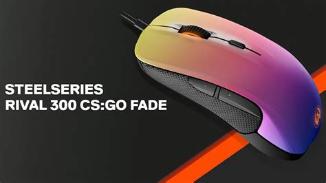 Sale Mouse Gaming Steelseries Rival 300 Cs Go Hyperbeast Edition steelseries rival 300 cs go fade ed end 3 2 2016 4 39 pm