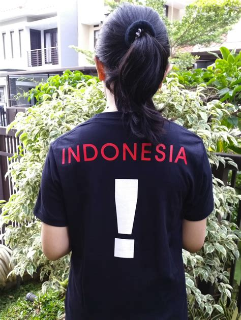 Kaos Indonesia Warna Hitam i tshirt indonesia hitam kaos distro kaka part 25