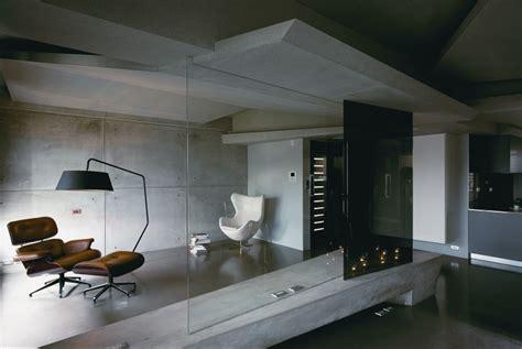 concrete interior design concrete and steel are making a comeback in interior