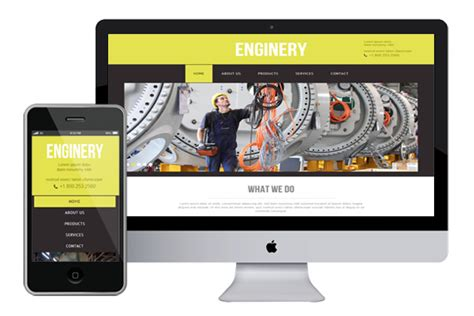 enginery free responsive html5 themes templates