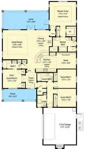 net zero floor plans 3 or 4 bedroom net zero ready home plan 33113zr 1st