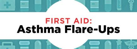First Aid Asthma Flare Ups