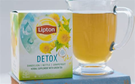 Lipton Detox Tea by Unilever Unveils Lipton Wellness Tea With Herbs And