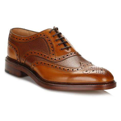 oxford shoes or brogues loake mens formal shoes oxford brogues brown leather