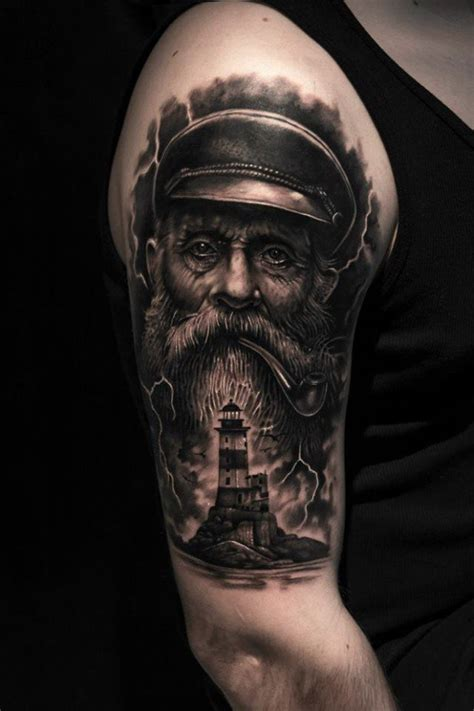 nautical half sleeve tattoos 20 nautical images pictures and designs