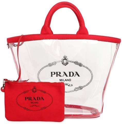 Prada Bag The Of Fashion by Prada Pvc Tote Bag Pvc Bags 2018 Popsugar Fashion Photo 16