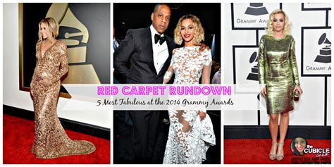 Which Grammy Look Was Most Fab by Carpet Rundown 5 Most Fabulous At The 2014 Grammy Awards