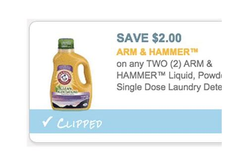 arm and hammer laundry coupons 2018