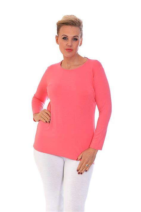 Plain Tshirt Hl new t shirt womens top plain sleeve basic plus