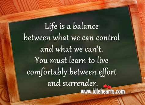 live life comfortably surrender control quotes quotesgram