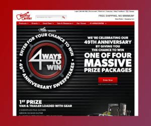 Guitar Center Giveaway - surfvsturf com quiznos surf n turf sweepstakes sweepstakes directory