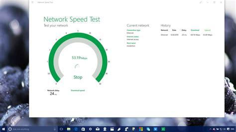 network speed test network speed test on pc windows mode