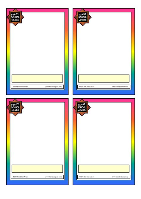 custom card template 187 word template for 3x5 index cards