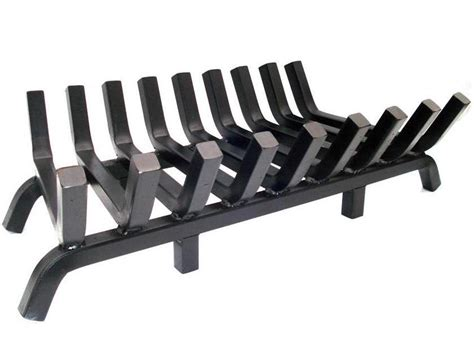 super heavy duty fireplace grate 36 inch wide 1 188 inch