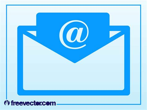 email icon vector email icon vector art graphics freevector com