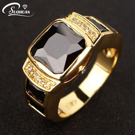 aliexpress rings 2017 new fashion men jewelry black cz diamond men ring