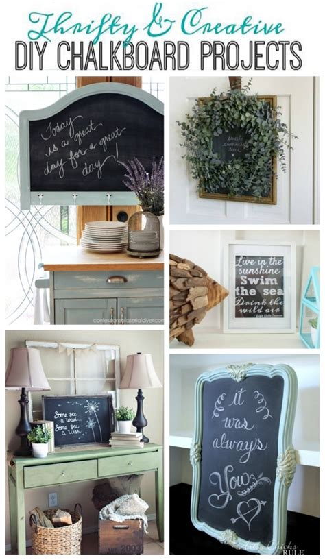chalkboard diy projects get your diy on diy chalkboard projects confessions of