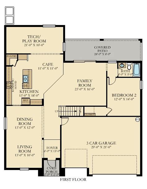 Lennar House Plans Himalayan Floor Plan Lennar