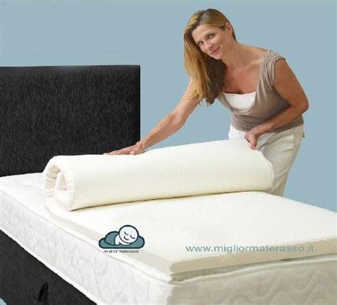 il tuo materasso topper memory per ammorbidire il tuo materasso con 6 cm di