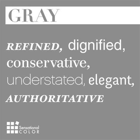 words that describe gray sensational color kid color paint color