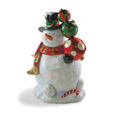 fiber optic led lawn christmas ornament fiber optic led snowman with ornaments outdoor decor fiber