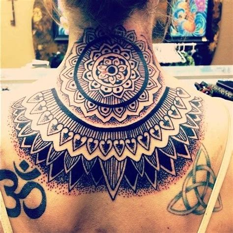yantra tattoo neck 17 best images about ganesh other ink on pinterest