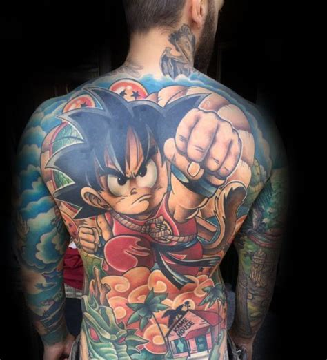 60 anime tattoos for men cool manga design ideas