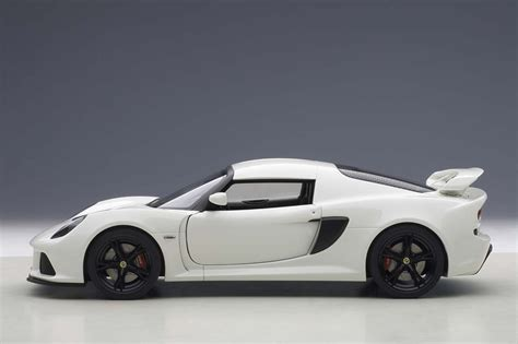white lotus exige autoart highly detailed die cast model white lotus exige s