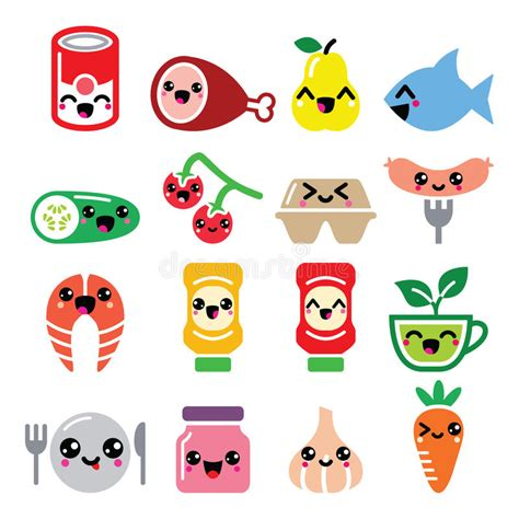 imagenes de zanahorias kawaii caracteres lindos de la comida de kawaii carne verduras