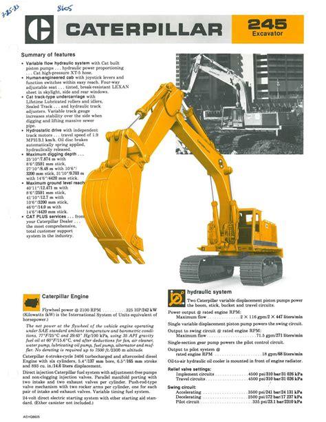 caterpillar hydraulic excavator supplier worldwide