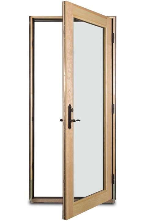 door swings open in swing door