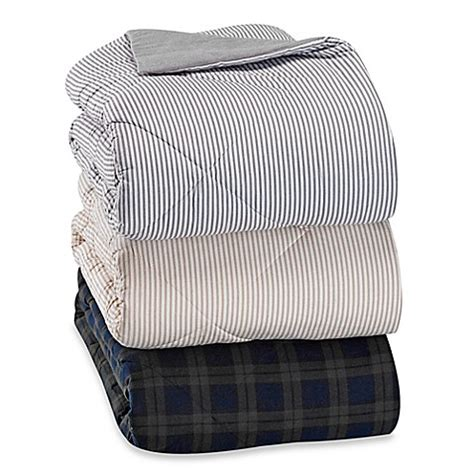 flannel sheets bed bath and beyond the seasons collection 174 flannel reversible comforter bed