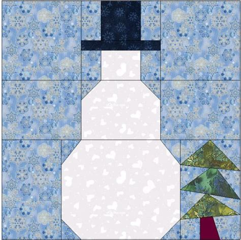printable snowman pattern block template quilt christmas blocks and the o jays on pinterest