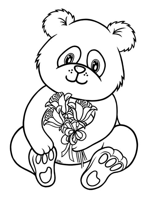 coloring page of a panda red panda coloring pages clipart panda free clipart images