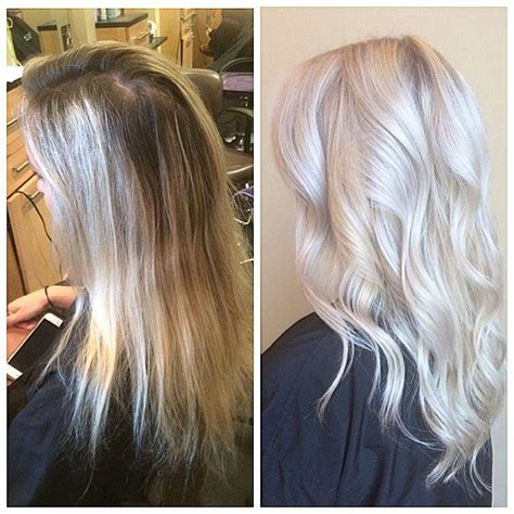 age for icy blonde hair 17 b 228 sta bilder om ash hairstyles p 229 pinterest balayage